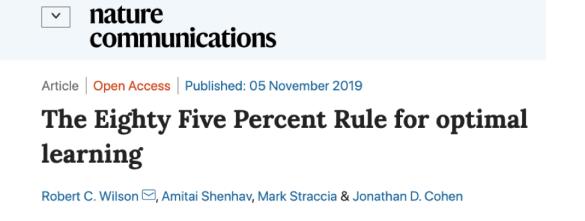 85 percent rule
